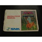 Ikari Warriors Instruction Booklet - NES