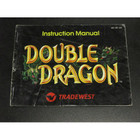 Double Dragon Instruction Booklet - NES