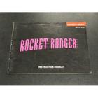 Rocket Racer Instruction Booklet - NES