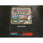 Super Baseball 2000 Instruction Booklet - SNES