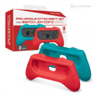 Pro Handle Attachment Set for Switch Joy-Con (Blue/ Red) (2-Pack) - Hyperkin