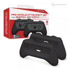 Pro Handle Attachment Set for Switch Joy-Con (Black) (2-Pack) - Hyperkin