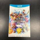 Super Smash Bros for Wii U Instruction Booklet - Wii U