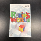 Rubik's World Instruction Booklet - Wii