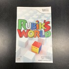 Rubik's World Instruction Booklet - Wii