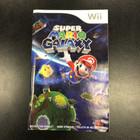 Super Mario Galaxy Instruction Booklet - Wii