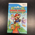 Super Paper Mario Instruction Booklet - Wii