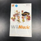 Wii Music Instruction Booklet - Wii