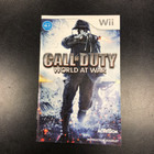 Call of Duty: World At War Instruction Booklet - Wii