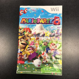 mario party 8 instruction booklet wii rh gamestreet ca Mario Party 2 Mario Party 2