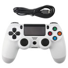 PS4 Wired Controller White - Generic (Also compatible for PC)