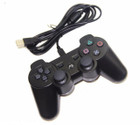 PS3 WIRED CONTROLLER BLACK - BULK