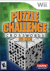 Puzzle Challenge: Crosswords and More! - Wii