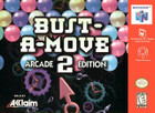 Bust-A-Move 2 Arcade Edition - N64 (Cartridge Only)