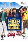 High School Musical: Sing It! - Wii