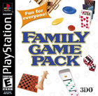 Family Game Pack - PS1