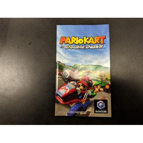 Mario Kart Double Dash Instruction Booklet - Gamecube