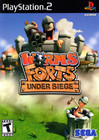 Worms Forts: Under Siege - PS2 (Disc Only)
