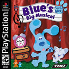 Blue's Big Musical - PS1 - Complete