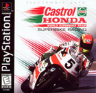 Castrol Honda Superbike Racing - PS1 - Complete