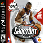 NBA ShootOut 2004 - PS1 - Complete