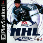 NHL 2001 - PS1 - Complete