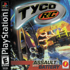 Tyco R/C Assault with A Battery  - PS1 - Complete