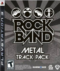 Rock Band: Metal Track Pack - PS3