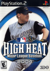 High Heat Major League Baseball 2004 - PS2