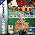 Golden Nugget Casino / Texas Hold 'Em Double Pack - GBA [CIB]