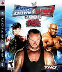 WWE SmackDown vs. Raw 2008 - PS3 (Disc Only)