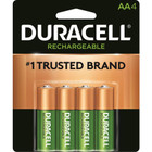 Duracell Rechargeable AA Batteries - 4 Pack