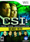 CSI: Crime Scene Investigation: Deadly Intent - Wii