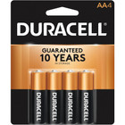 Duracell AA Alkaline Batteries  - 4 Pack