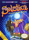 Solstice: The Quest for the Staff of Demnos - NES (With Box)