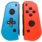 Joy-Con Controllers For Nintendo Switch + Switch Lite (L + R) - Red/Blue
