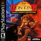 Disney's The Lion King: Simba's Mighty Adventure - PS1