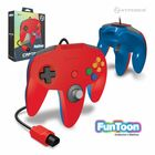 Captain Premium Controller for N64 - Hero Red