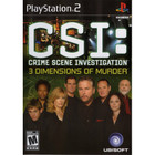 CSI: 3 Dimensions of Murder - PS2