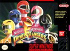 Mighty Morphin' Power Rangers - SNES (Cartridge Only)