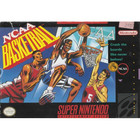 NCAA Basketball - SNES (With Box and Book)
