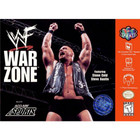 WWF War Zone - N64 (Cartridge Only, Cartridge Wear)