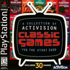 A Collection of Activision Classic Games for the Atari 2600 - PS1 (With Book)