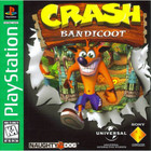Crash Bandicoot - PS1 - Greatest Hits (With Book)