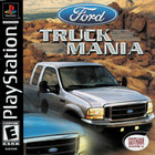 Ford Truck Mania - PS1 (With Book)