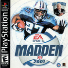 Madden NFL 2001 - PS1 (With Book)