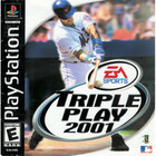Triple Play 2001 - PS1 (With Book)