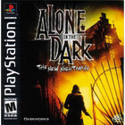 Alone in the Dark: The New Nightmare - PS1 (With Box and Book)