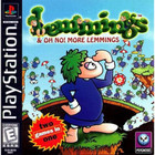 Lemmings & OH NO! More Lemmings - PS1 (With Box and Book)