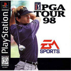 PGA Tour 98 - PS1 (With Box and Book)